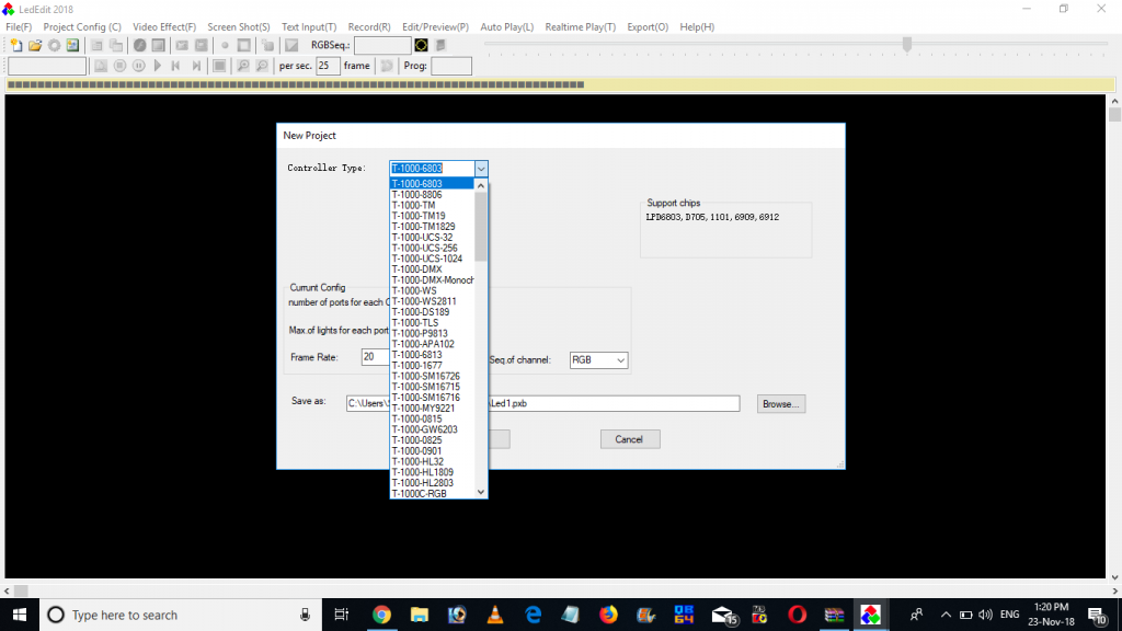 Led edit software, free download